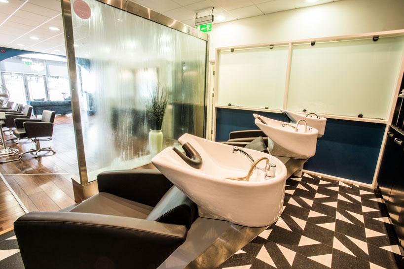 Total Haircare Washing Area